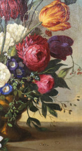 Schilderij - Retouches - scheur