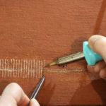 Schilderij - Verlijming - Aanbrengen overbruggingen