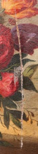Schilderij - Vrij leggen Scheur - voorkant