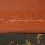 Schilderij - Vrijleggen scheur - Achterkant na verwijdering pleisterlinnen